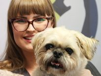 Courtney and her dog - Southside Animal Hospital Cronulla Vet Nurse