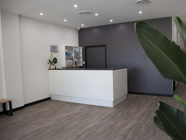 Gymea clinic reception